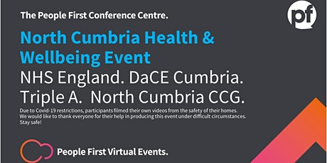 Free Premiere North Cumbria Virtual (ZOOM)Health & Wellbeing Webinar tickets