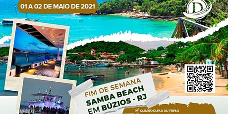 Samba Beach Búzios RJ ingressos