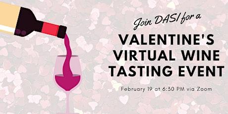 DASI's Virtual Wine Tasting tickets