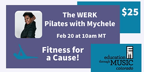 Fitness For a Cause: Pilates with Mychele tickets