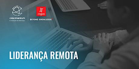 Liderança Remota | Online e ao Vivo bilhetes