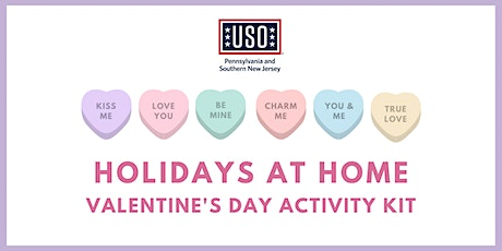 USO Eastern PA - Holidays at Home Activity Kit - Valentine's Day Edition tickets