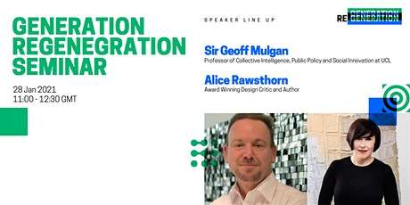 Generation Regeneration Seminar entradas
