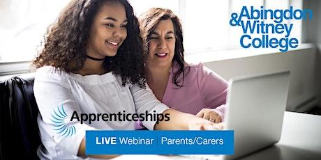 National Apprenticeship Week 2021: Parents & Carers Webinar tickets