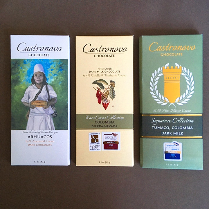 Online Chocolate Tasting: Let's Go to Colombia with 37 Chocolates image