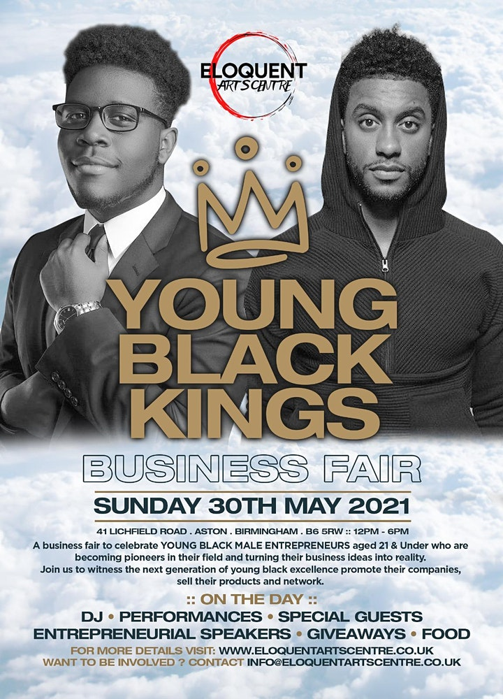 YOUNG BLACK KINGS BUSINESS FAIR image