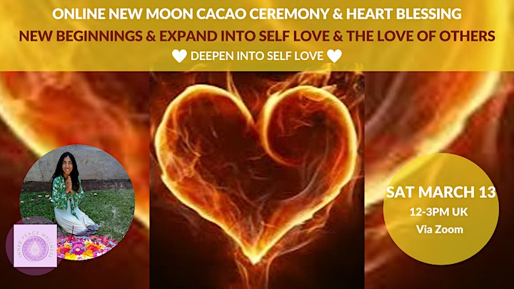 Online Chakra Yoga, Meditation & Cacao Journey to Deepen into Self Love image