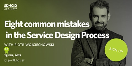 Eight common mistakes in the Service Design Process tickets