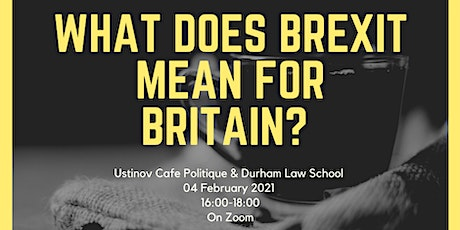 What does Brexit mean for Britain? tickets