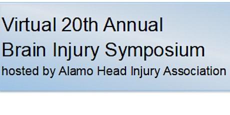20th AHIA Annual Brain Injury Symposium tickets