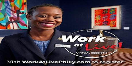 Live! Casino and Hotel and Council Member Kenyatta Johnson Virtual Job Fair tickets