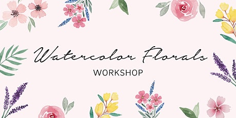 Watercolor Florals tickets