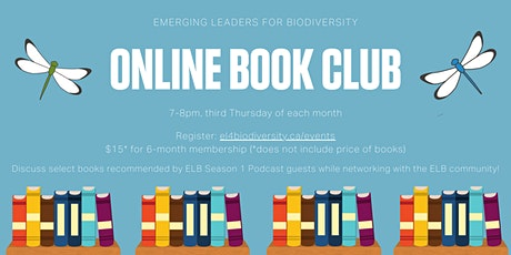 2021 Online Book Club - joining February through May billets