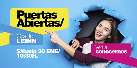 LEINN/ PUERTAS ABIERTAS MADRID [30 ENE | 10H30] entradas