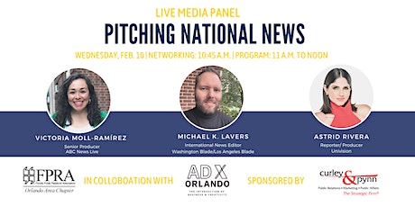 Media Panel: Pitching National News tickets
