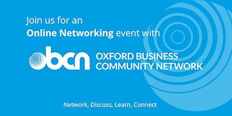 OBCN Online Networking Event tickets