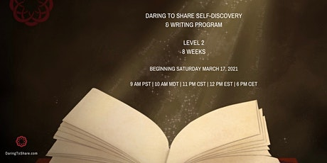 Daring to Share Self-Discovery & Writing Program Level 2 tickets