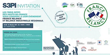 """Webinaire : """"France Relance et la relance industrielle régionale"""" billets"""