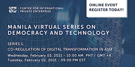 Manila Virtual Series on Democracy and Technology tickets