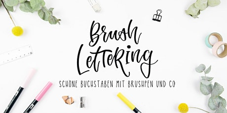 Brushlettering  Workshop tickets