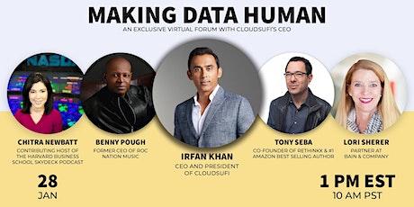 Making Data Human Virtual Forum tickets
