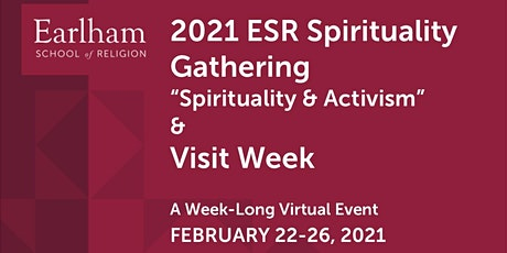 ESR Virtual Spirituality Gathering & Visit Week: Spirituality and Activism tickets