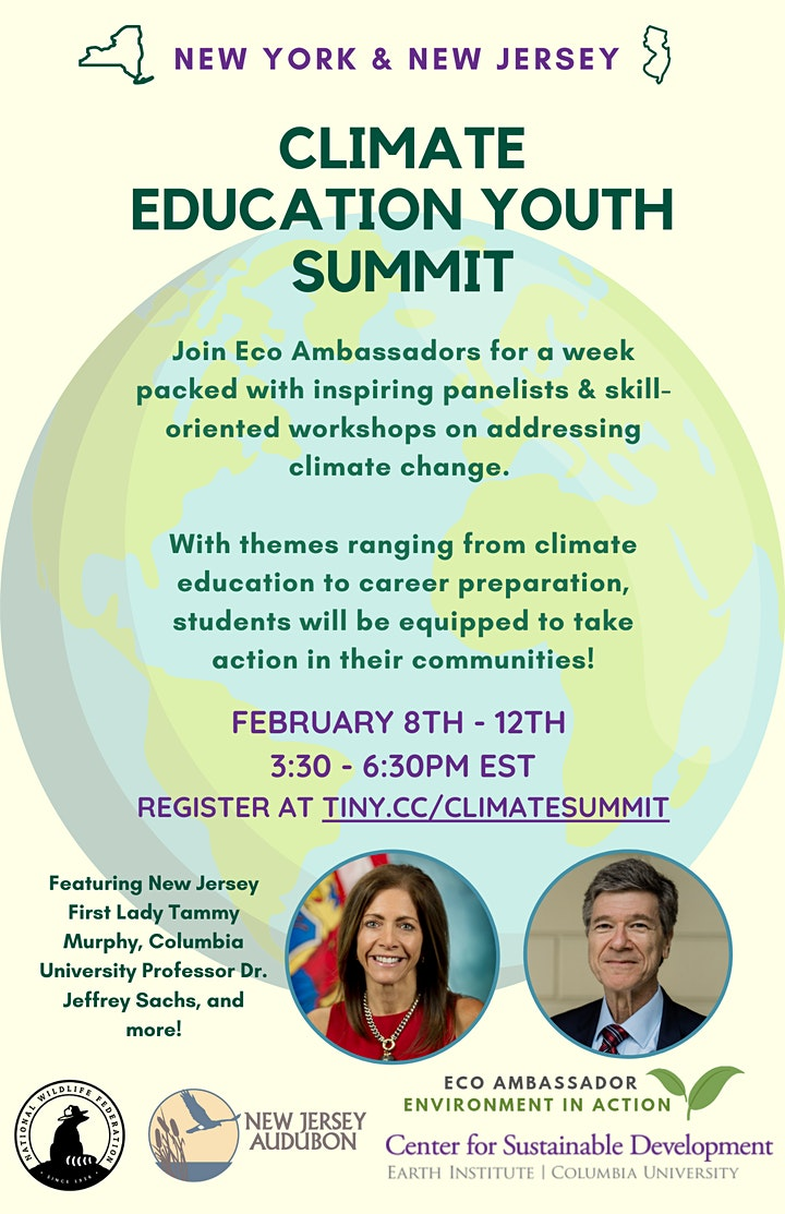 New York & New Jersey Climate Education Youth Summit image