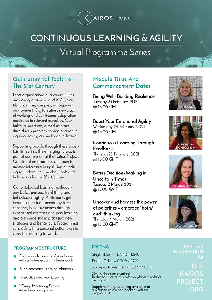 Upskilling for the 21st Century – Kairos Virtual Open Programme Orientation image