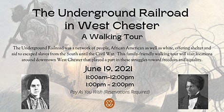 Underground Railroad Walking Tour tickets