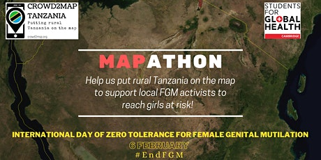 #EndFGM Mapathon by SfGH Cambridge and Crowd2Map Tanzania tickets