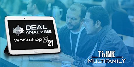 Deal Analysis Workshop 2021 tickets