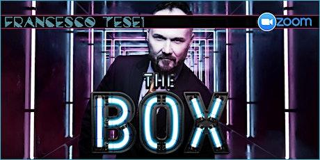 FRANCESCO TESEI: THE BOX (5/2/2021) biglietti