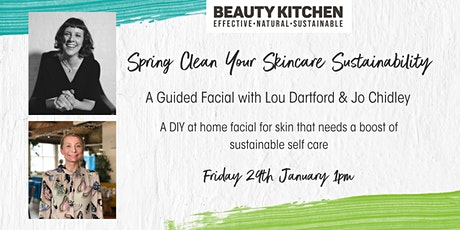 Beauty Kitchen's Guided Facial with Lou Dartford tickets