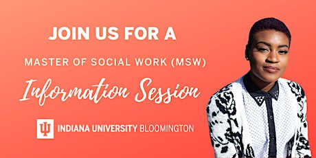 Indiana University Bloomington - MSW Virtual Information Session tickets