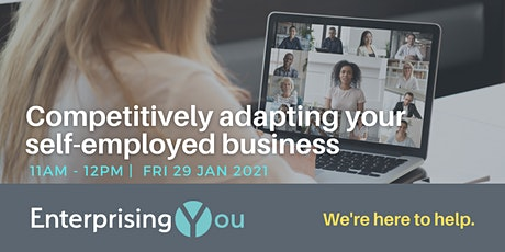 Competitively adapting your self-employed business tickets