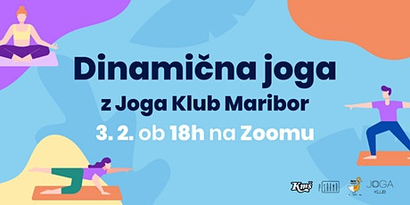 Dinamična joga z Joga Klub Maribor tickets