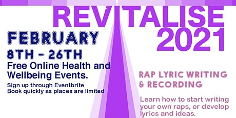 Rap lyric writing and recording tickets
