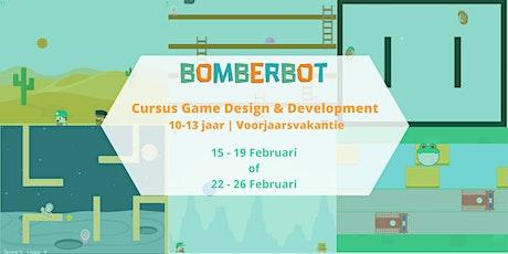 Bomberbot Voorjaarsvakantie | Game Design & Development | 11-14 jr | 1 week tickets