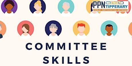 Committee Skills tickets