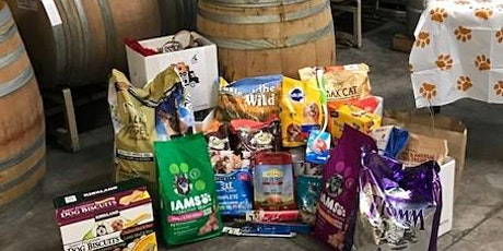 Humane Society donation drop off, wine pick up for virtual Party tickets