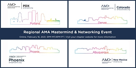 Regional AMA Virtual Mastermind & Networking Event tickets