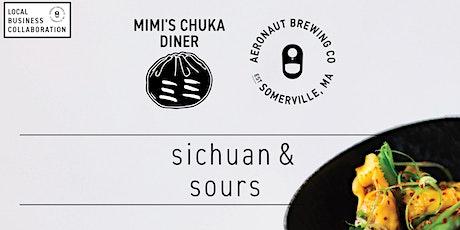 Sichuan & Sours:  a Mimi's Chuka Diner & AERONAUT collaboration tickets