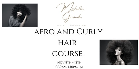 Afro and Curly Hair Styling Course Tickets