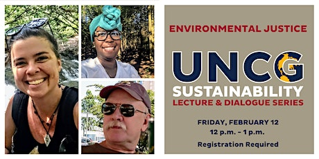 UNCG Sustainability Lecture & Dialogue Series: Environmental Justice tickets