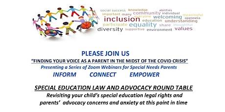 Special Education Law & Advocacy Webinar tickets