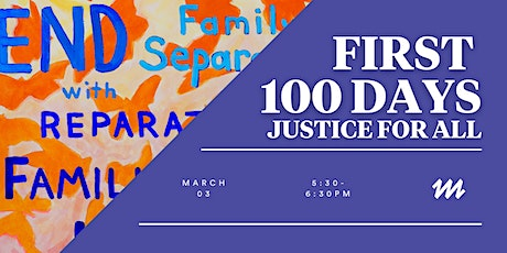 First 100 Days: Justice for All tickets