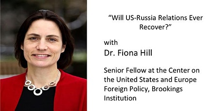 DCFR Online Event: Dr. Fiona Hill tickets
