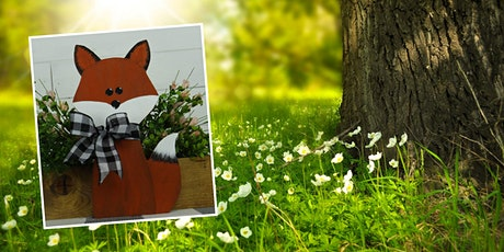 Painting Workshop: Decorative Standing Fox tickets