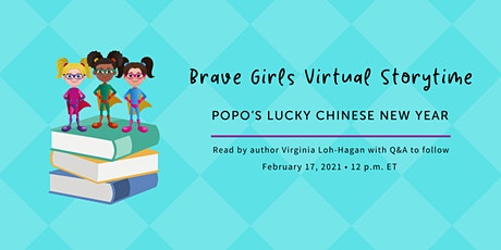 Brave Girls Virtual Story Time: Popo's Lucky Chinese New Year tickets