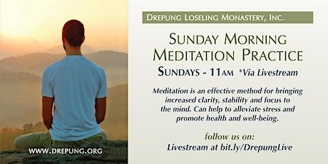 Sunday Meditation tickets